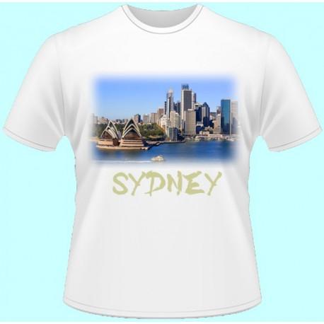 Tričká s potlačou - Sydney (dámske tričko)