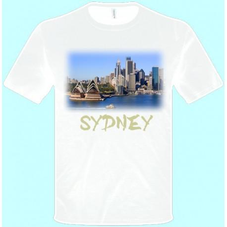 Tričká s potlačou - Sydney (pánske tričko)