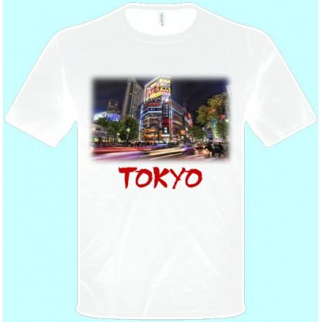 Tričká s potlačou - Tokyo (pánske tričko)