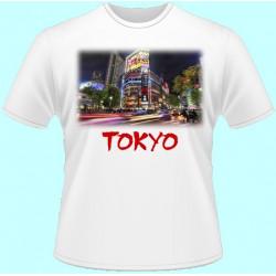 Tričká s potlačou - Tokyo (dámske tričko)