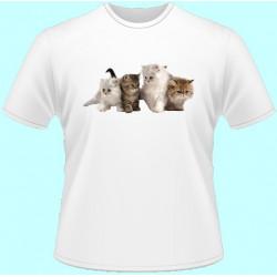 Tričká s potlačou zvierat -...