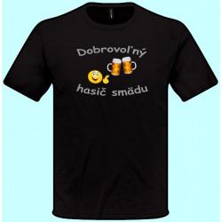Tričká s potlačou - Dobrovoľný hasič smädu (pánske tričko)