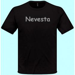 Tričká s potlačou - Nevesta (pánske tričko)