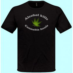 Tričká s potlačou - Alcohol...